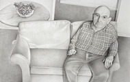 <p><em>Harold</em>, graphite on paper, 38 x 50.5 inches, 2010-12</p>