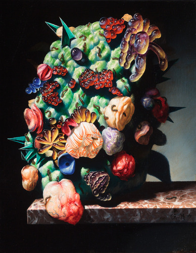 Van_minnen_christian_sticky_bouquet_2013_oil_linen_14_x_11_in