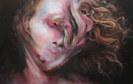 "<p>Swish  33"" x 46""  oil on canvas     2012</p>"