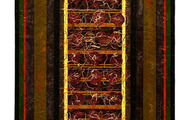 """<p><strong>VESSEL</strong>  1995  48"""" x 16""""</p>"""