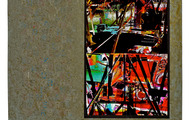 """<p><strong>THE VISITANT  </strong>2010  22.5"""" x 24""""</p>"""