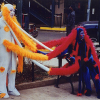 "<p><span id=""caption"" style=""display: inline;""><span id=""titleText"">I am You while You are Me, 2002. Costume and performance collaboration between Rachel Meuler and Young Jean Lee.  <span id=""caption"" style=""display: inline;""><span id=""titleText""><span id=""caption"" style=""display: inline;""><span id=""titleText""><span id=""caption"" style=""display: inline;""><span id=""titleText"">Photo credits Hiro Sato.</span></span></span></span></span></span><br /></span></span></p>"