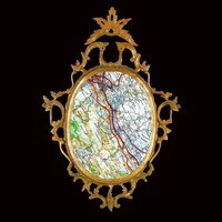 <p>'My Map is my Mirror' - '43°11'46.4N 2°20'06.6E'</p> <p>2014</p> <p>digital print</p> <p>edition of 3 + 1 A/P</p>