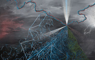 """<p><em>There Was Something Else Here Before -&nbsp;</em>acrylic on canvas, 48x60"""" 2014</p>"""