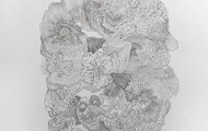 """<p style=""""text-align: center;"""">That Which Can Not Be Named #24 - graphite on paper, 39x27.5"""" &nbsp;2013</p> <p style=""""text-align: center;"""">SOLD - Private Collection</p>"""
