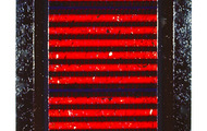 """<p><strong>PETROGLYPHIC RED </strong> 1987-88  66"""" x 30""""</p>"""
