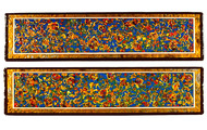 "<p><strong>DOUBLE RAINS</strong> &nbsp; &nbsp;1998 &nbsp; 2@ 24"" x 5.75"" ea.</p>"
