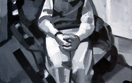 """<p><em><strong>Brian</strong></em></p> <p>oil on canvas, 24 x 30""""</p>"""