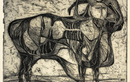 <p><em>Grant</em>, 1963, Etching on paper, 9 X 7.5 inches.</p>