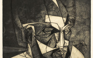 <p><em>Head of Odysseus</em>, 1963, Engraving &amp; aqua-tint on paper, 11 X 9 inches.</p>