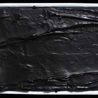 "<p><span>Blackness - 10""x20"" Mixed media on stretched canvas. Framed. 2015</span></p>"