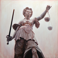 "<p style=""text-align: center;"">Lady Justice</p>