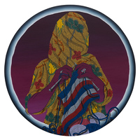 <p><span>Day Of Recollection</span>, 2016, acrylic and colored pencil on panel, 24&rdquo; in diameter</p>