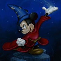 <p>Sourcerer Mickey</p>
