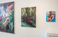 """<p><span>""""Trophies"""" - Solo exhibition at The Lodge, March 12 - April 9 2016.</span></p>"""