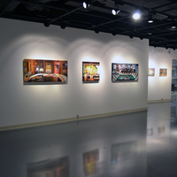<p>Installation shot, Rall Gallery, Doane College.</p>