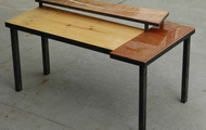 "<p style=""text-align: center;""><strong>TWO TIER COFFEE TABLE  / SOLD<br /></strong></p>"