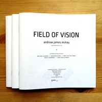 "<p style=""text-align: center;"">FIELD OF VISION exhibition catalogue.</p>
