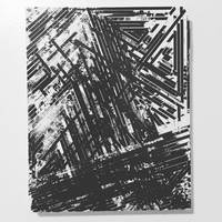 <p><span>&ldquo;insignificance, neglect and disdain&rdquo; / improvised audiocassette tape coating collage on panel / 8&rdquo;x10&rdquo; / 2019</span></p>