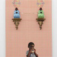 <p>Genevieve Gaignard<br /><em>Mercy Mercy Me</em>, 2019<br />Mixed Media on Panel<br />40 x 30 x 6 inches</p>