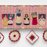 <p>Genevieve Gaignard<br /><em>Miss Americana, 2020&nbsp;</em><br />Mixed media on Panel<br />36 x 12 x 1.5 inches&nbsp;</p>